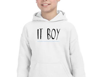 Boy hoodie IT BOY