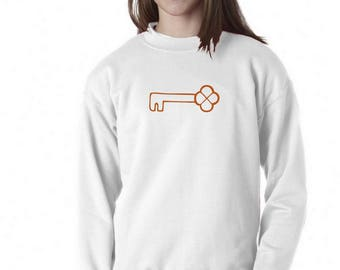 Boy Girl Baby sweater COPPER KEY