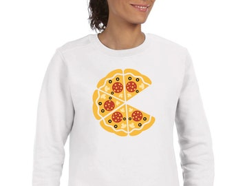 Round neck women sweater INCOMPLETE PIZZA