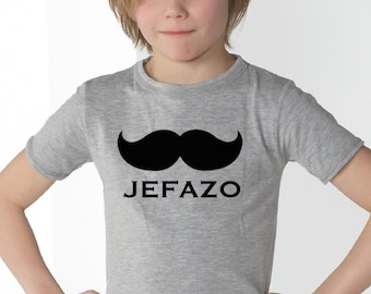 Boyt-shirt or body JEFAZO + MOUSTACHE