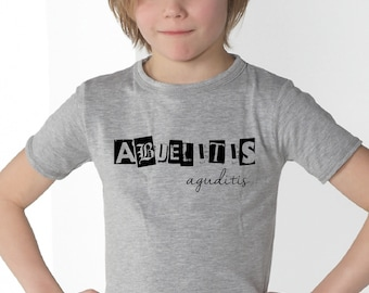 Boy t-shirt ABUELITIS AGUDITIS