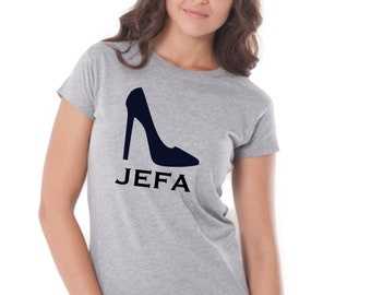 Women tee JEFA + STILETTOS
