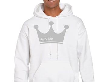 Men hoodie CROWN
