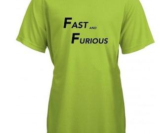 Running round neck kids t-shirt FASTA AND FURIOUS