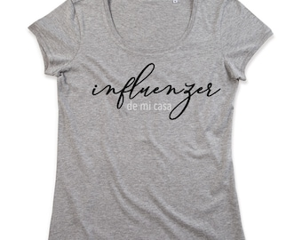 Women tee INFLUENZER
