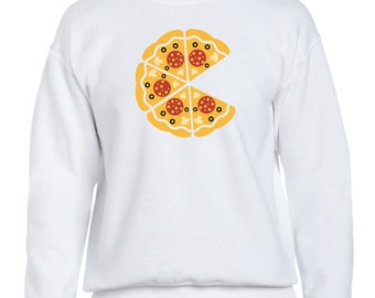 Men sweater PIZZA COLORS