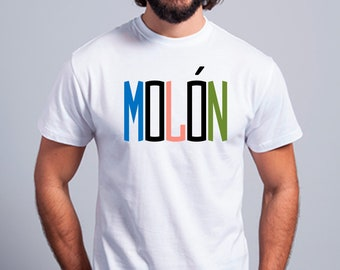 Round neck men short sleeve t-shirt MOLON