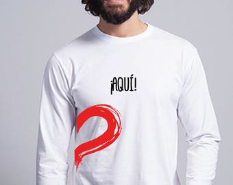 Round neck men long sleeve t-shirt And the rest? Here!