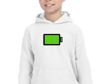 Boy Girl hoodie FULL BATTERY