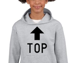Boy Girl hoodie TOP