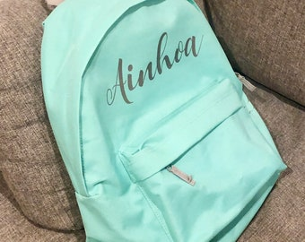 Nursery/school bag with name