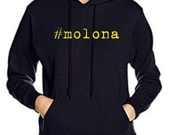 Round neck women hoodie #MOLONA