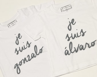 Bout-Shirt or body JE SUIS