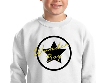 Boy sweater WONDER BOY