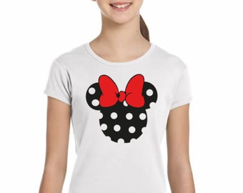 Girl t-shirt/body MINNIE in various colors