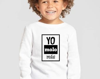 Boy/girl/baby t-shirt or body YO MOLO MAS