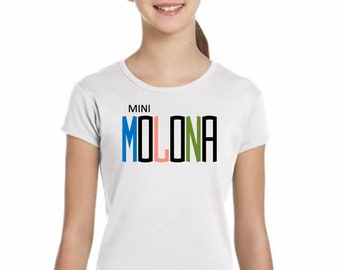 Girl t-shirt or body MINI MOLONA