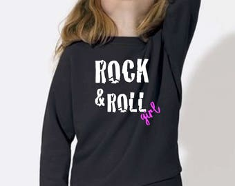 Girl sweater ROCK & ROLL GIRL