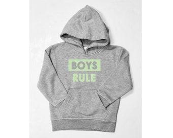 Boys hoodie BOYS RULE