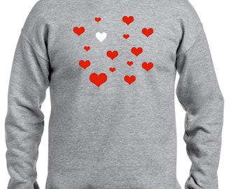 Men sweater HEARTS