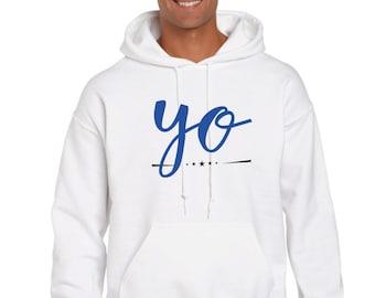 Men hoodie YO
