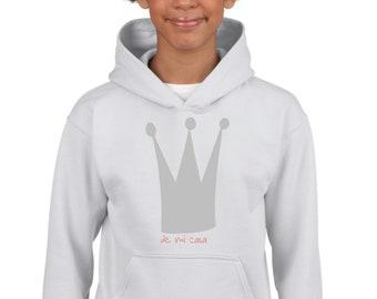 Girl hoodie CROWN