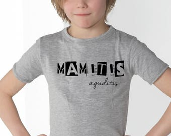 Boy t-shirt or body MAMITIS / PAPITIS AGUDITIS
