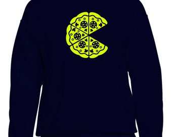Men sweater PIZZA PACMAN