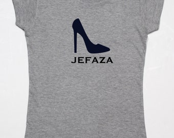 Girl t-shirt or body JEFAZA +. STILETTO