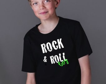 Boy t-shirt or body ROCK & ROLL BOY