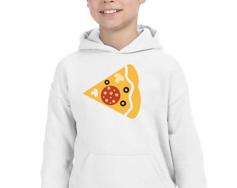 Boy Girl hoodie PIZZA PORTION