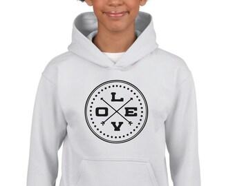 Boy Girl hoodie LOVE