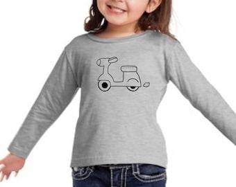 Boy/girl/baby t-shirt or body MOTORBIKE