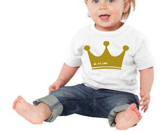 Bout-Shirt or body CROWN (de mi casa)