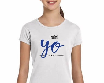 Girl t-shirt/body YO in various colors