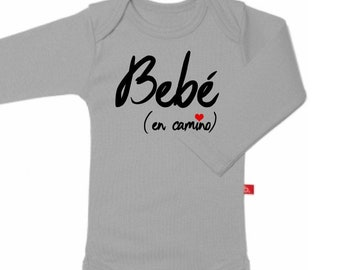 Long sleeve body BEBE EN CAMINO