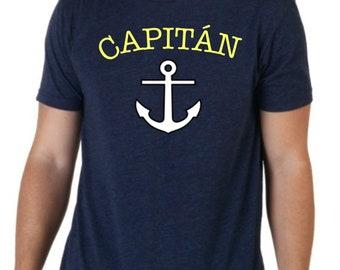 Round neck men short sleeve t-shirt CAPITAN
