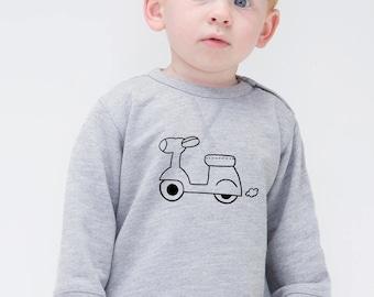 Boy Girl Baby sweater MOTORBIKE