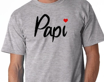 Round neck men short sleeve t-shirt PAPI