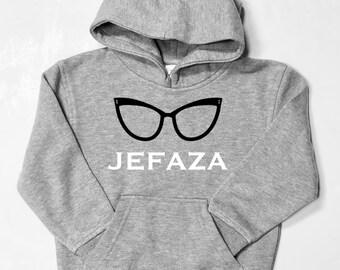 Girl hoodie JEFAZA
