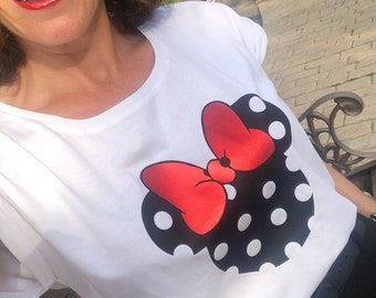 Women tee MINNIE different prints