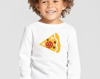 Boy/girl/baby t-shirt or body PIECE OF PIZZA