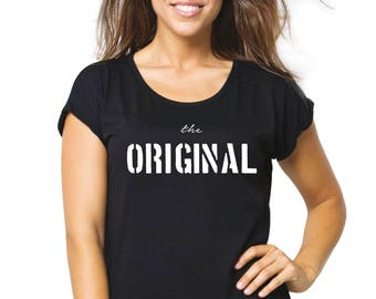 Round neck women t-shirt THE ORIGINAL
