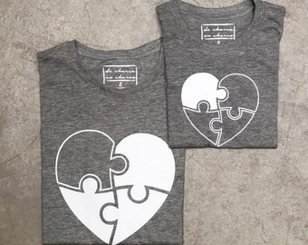 T-shirt for the show family PUZZLE HEART