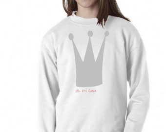 Girl sweater CROWN - QUEEN - PRINCESS