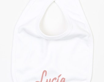 Baby bib. Customizable