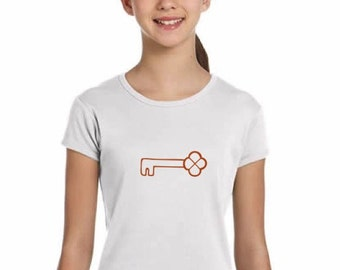 Girl t-shirt or body KEY