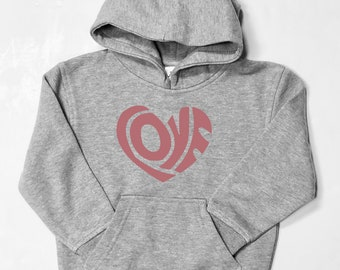 Boys and girls hoodie LOVE