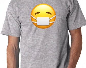 Men tee with the selected emoji