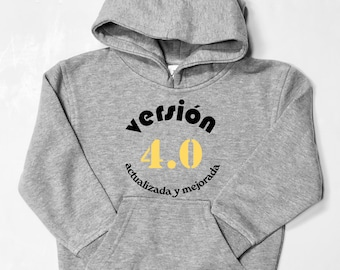 Men hoodie VERSION. Birthdays.